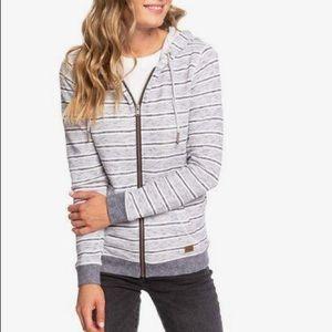 4/$25 Roxy hooded zip up sweatshirt